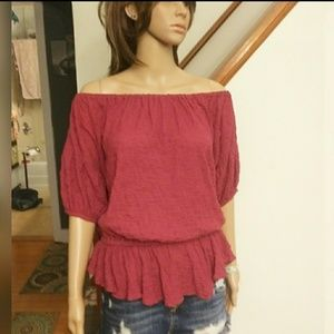 Free People gypsy top. Sz-small
